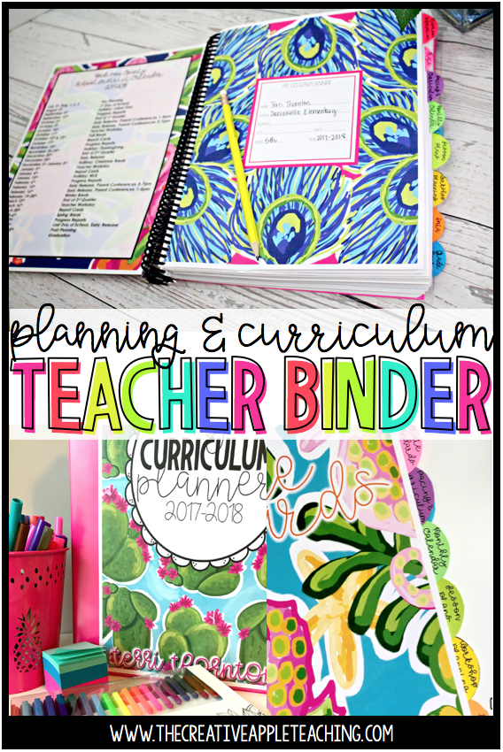 Looking for a planner that can be customized to fit your needs! This DIY planner is just what you need! It is editable and printable and can be spiral bound or used in a binder system. Teacher Planner | DIY Planner | Cute Planner | Editable Planner | Printable Planner