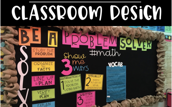 Planning Your Classroom Design